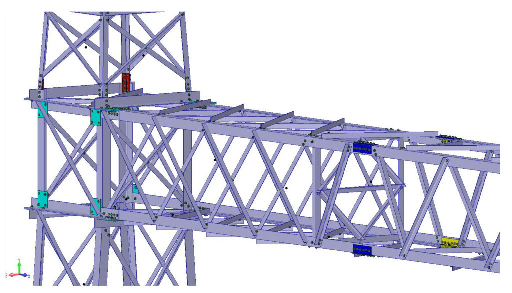 VIRTUAL TOWER STRUCTURES SOFTWARE